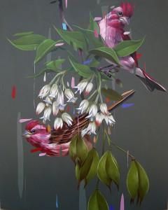 http://thinkspacegallery.com/2012/03/show/Frank-Gonzales_purplefinchesbladdernuts.jpg
