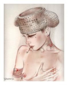 http://thinkspacegallery.com/2010/10/show/HEART-BURN-2010Drawing-Graphite-acrylic-airbrush-onTwinRockerHandmadepaper-9x12_-4E35.jpg