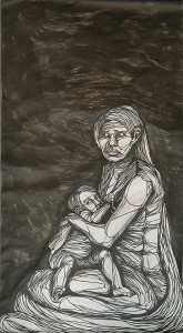 http://thinkspacegallery.com/2010/03/show/Imminent-Disaster-Mother-With-Child.jpg