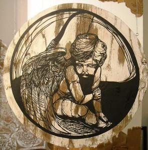http://thinkspacegallery.com/2009/01/show/Imminent-Disaster---cherub.jpg