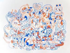 http://thinkspacegallery.com/2009/08/show/Jon-Burgerman---Pointing-the-Finger-of-Blame.jpg