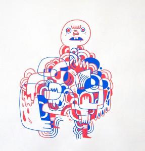http://thinkspacegallery.com/2009/08/show/Jon-Burgerman---Worrying-decision-two.jpg