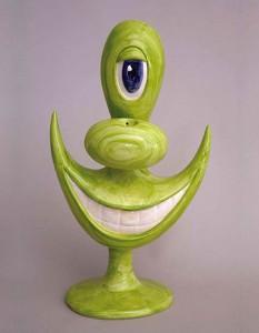 http://thinkspacegallery.com/2013/10/birdseyeview/show/Kenny-Scharf-Object-To-Enjoy-green.jpg