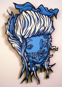 http://thinkspacegallery.com/2010/04/project/show/Mr.-Gauky---Skombie-Alice---7x11.5---Acrylic-on-die-cut-wood.jpg