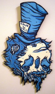 http://thinkspacegallery.com/2010/04/project/show/Mr.-Gauky---Skombie-Hatter---7x14.5---Acrylic-on-die-cut-wood.jpg