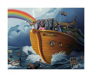 http://thinkspacegallery.com/2010/08/show/Paul-Richmond---Noahs-Gay-Wedding-Cruise---15x12---Giclee-print-edition-of-200-(5-available)---50.jpg