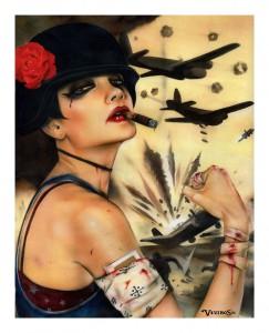 http://thinkspacegallery.com/2010/10/show/STRENGTH-print-18x24-hand-embellished-custom-framed-Giclee-1-of-1.jpg