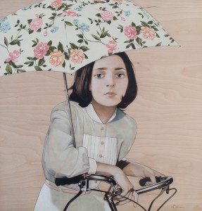 http://thinkspacegallery.com/2012/03/show/Sean-Mahan_girl-and-bicycle-sm.jpg