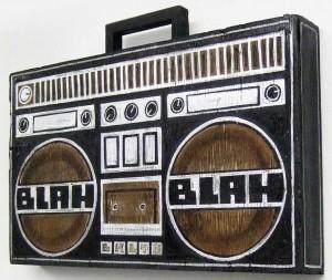http://thinkspacegallery.com/2009/01/show/Skewville-blah-blah-radio-(side-view).jpg