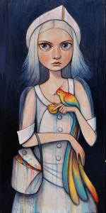 http://thinkspacegallery.com/2014/10/show/kellyvivanco_rainbow_bird-1000.jpg